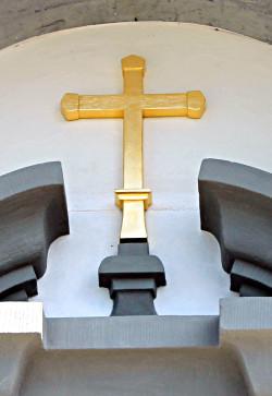 Ölvergoldung / Kirche Bildstein