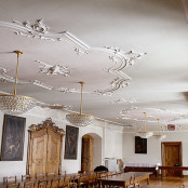 Tafelsaal Abtei Wettingen Mehrerau / vorher