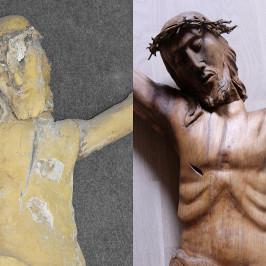 Christus   vorher / nachher