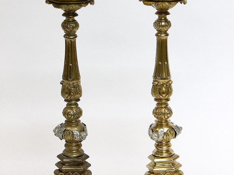 Kerzenständer  vorher/nachher