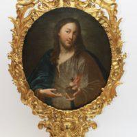 Rahmen und Gemälde nach der Restaurierung
