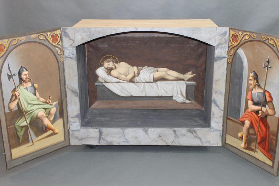 Hl. Grab nach der Restaurierung