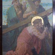 Kreuzwegstation Nr. 03 St. Michaels Kirche Rankweil / Eingangsaufnahme