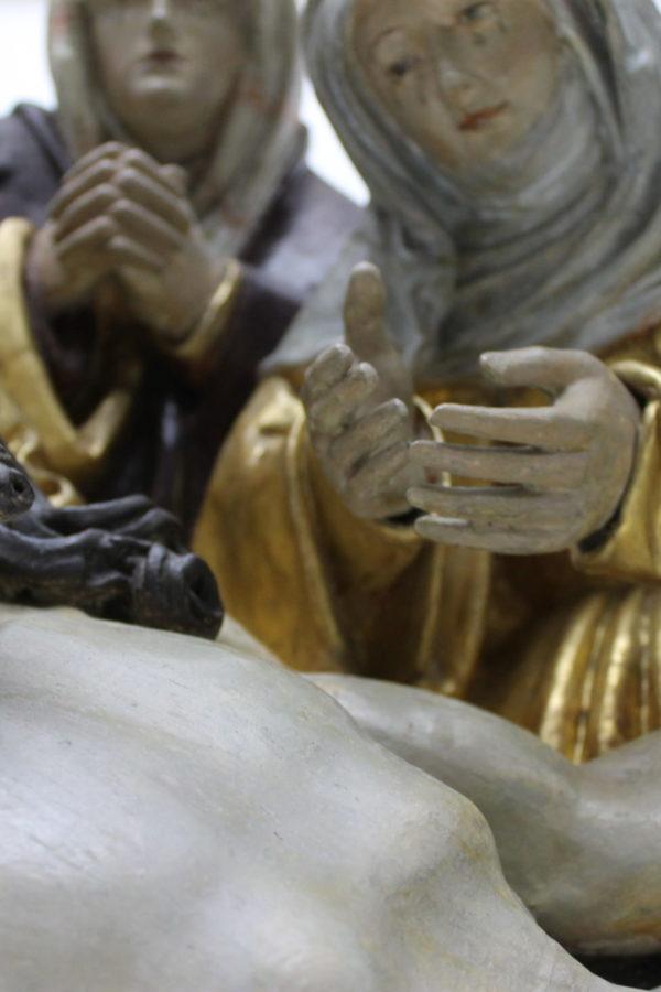 Grablegung - Jesu / Detail
